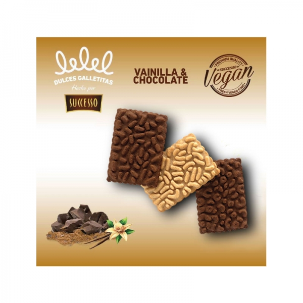 VAINILLA Y CHOCOLATE X 150 GRS.