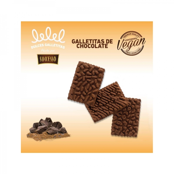 GALLETITAS DE CHOCOLATE X 150 GRS.